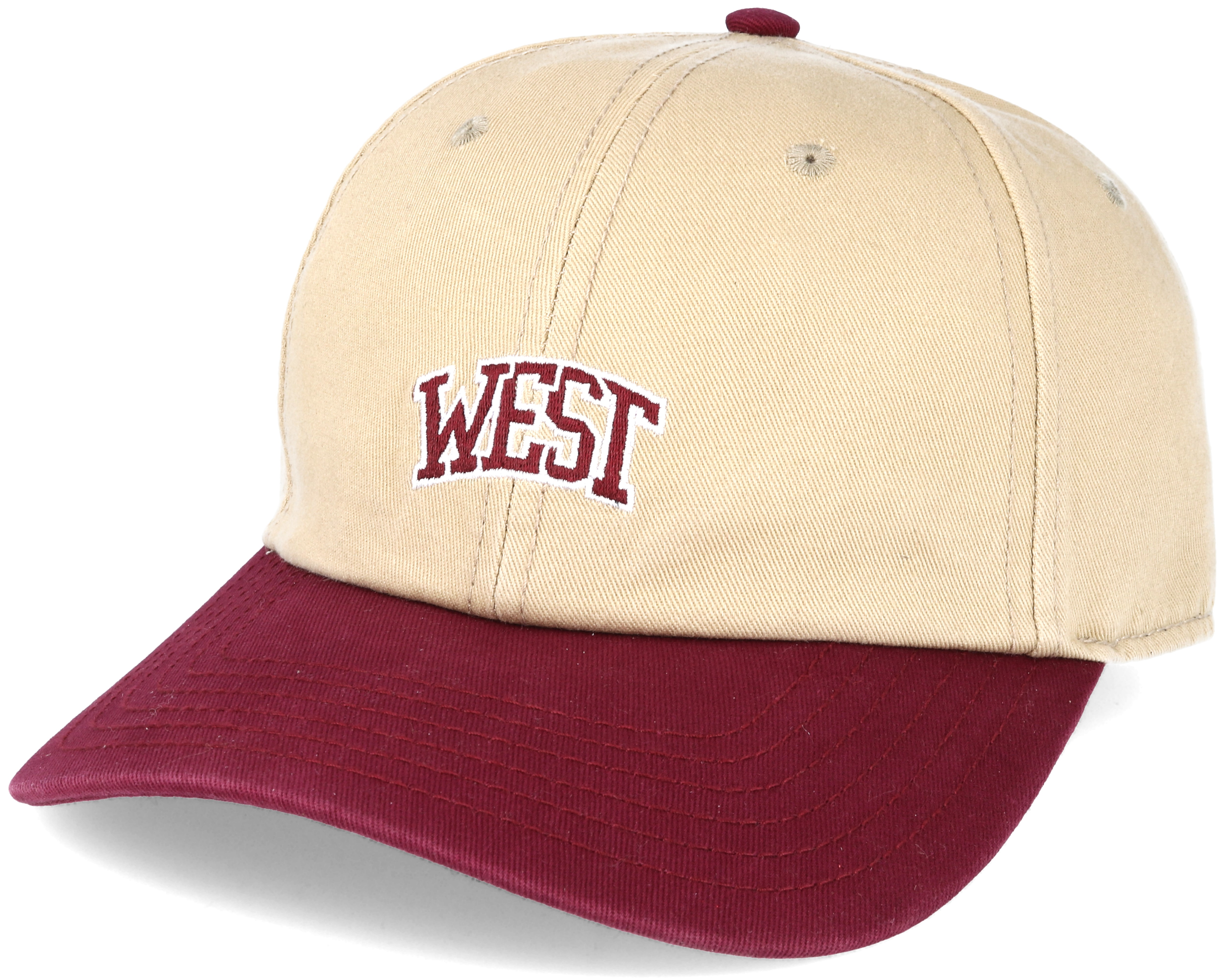 West University Curved Sand Snapback Cayler Amp Sons Caps