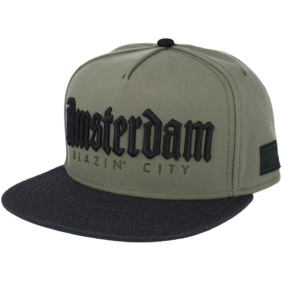 Amsterdam Olive Snapback Cayler Amp Sons Cap Hatstore De