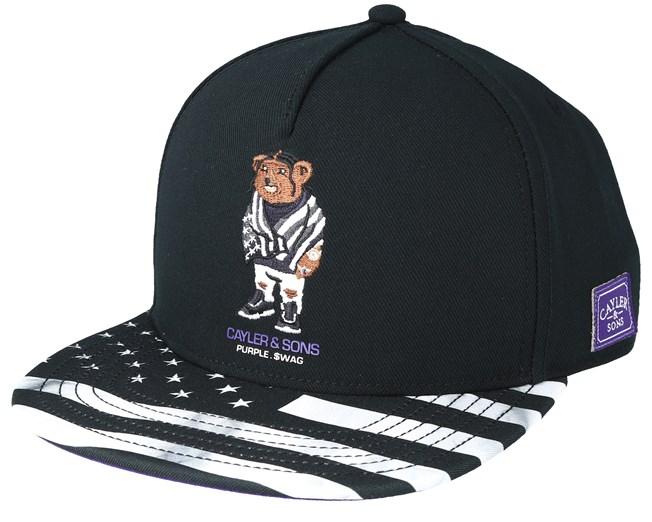 41af0edcde0 Purple Swag Black Snapback - Cayler   Sons caps - Hatstoreworld.com
