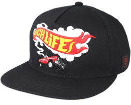 Burnout Black Snapback - Cayler & Sons