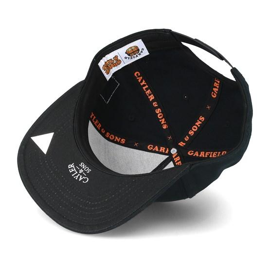Not Happy Garfield Black Snapback - Cayler   Sons caps  61e6483b2f82