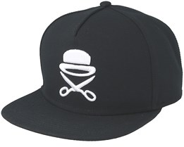 Pa Icon Black/White Snapback - Cayler & Sons