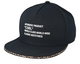 CSBL Quote Black/Leo Snapback - Cayler & Sons