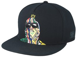 Crowned Black/Mc Snapback - Cayler & Sons