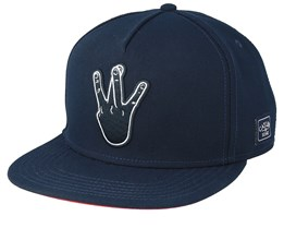 Westcoast Icon Navy/Mc Snapback - Cayler & Sons