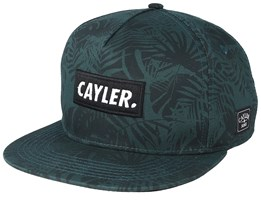 Statement Green/Black Snapback - Cayler & Sons