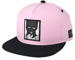 In The Air Pale Pink/Black Snapback - Cayler & Sons