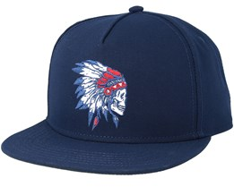 Freedom Corps Corps Navy Snapback - Cayler & Sons