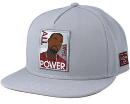 Power Grey Snapback - Cayler & Sons