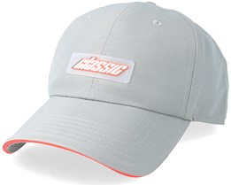 Shifter Curved Grey/Lazer Red Snapback - Cayler & Sons