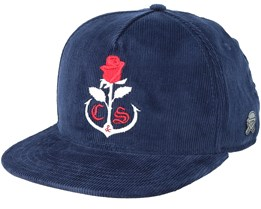Rose Kepper Navy Snapback - Cayler & Sons