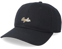 Pinned Curved Black/Atuiqe Gold Adjustable - Cayler & Sons