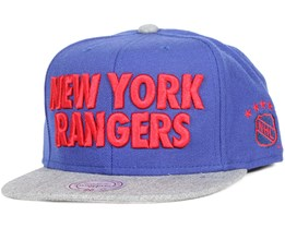 New York Rangers Forces Snapback - Mitchell & Ness