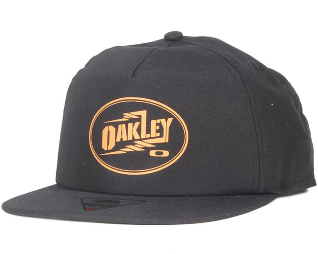 76e3326eff20e Foundation Jet Black Snapback - Oakley - Start Boné - Hatstore