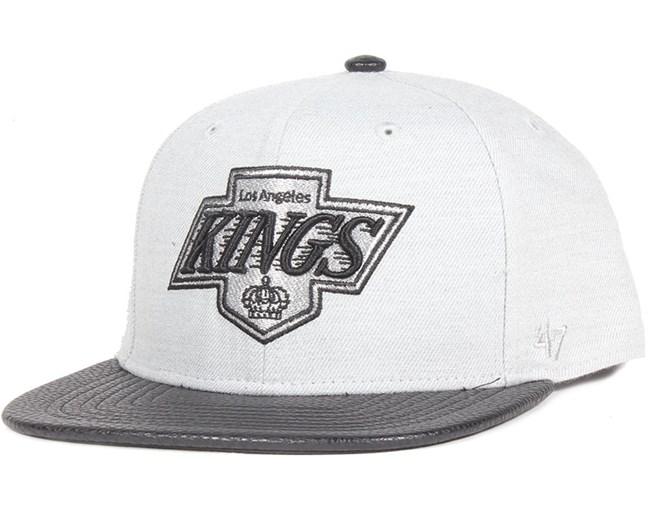 5ed94f8f7166c LA Kings Berendo Grey Wool Snapback - 47 Brand caps ...
