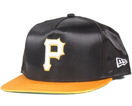 Pittsburgh Pirates Satin Black/Yellow 9Fifty Snapback - New Era