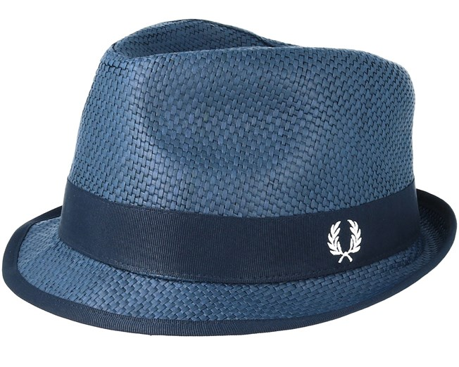 Straw Navy Trilby - Fred Perry hats  01e3ff3e0d7