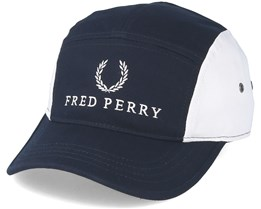 Fred Perry Navy/White 5-Panel - Fred Perry