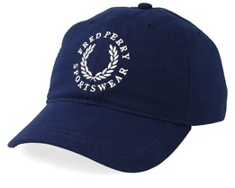 Branded Cap Carbon Blue Adjustable - Fred Perry