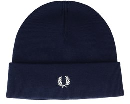 Merino Wool Dark Navy Cuff - Fred Perry