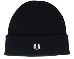 Merino Wool Black Cuff - Fred Perry