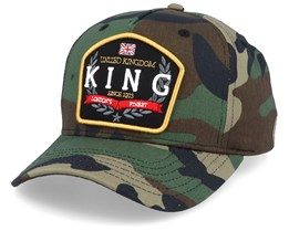 The Imperial Cap Camo Adjustable - King Apparel
