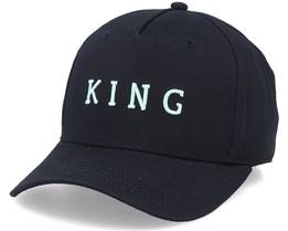 Stepney Curve Peak Black Adjustable - King Apparel