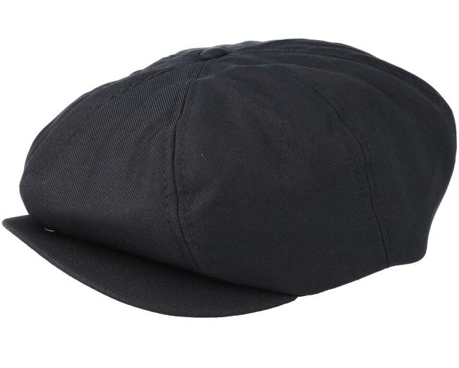de6652a6cdf Jacksonport Black Flat Cap - Dickies caps