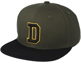 Westdale Heather Green/Black Snapback - Dickies