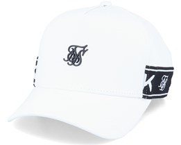 Stretch Fit Full Trucker White Adjustable - SikSilk