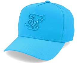 Crushed Nylon Full Trucker Teal Adjustable - SikSilk