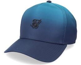 Full Fade Trucker Teal & Blue Adjustable - SikSilk