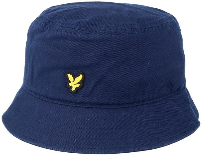 718e64402d4 Cotton Twill Dark Navy Bucket - Lyle   Scott hats
