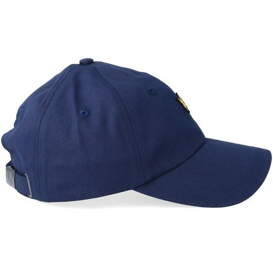 c78e470e6bc0e Cotton Twill Baseball Cap Dark Navy Adjustable - Lyle   Scott caps ...
