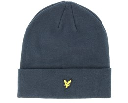 Dark Navy Beanie - Lyle & Scott
