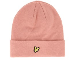 Beanie Light Pink Shadow Cuff - Lyle & Scott