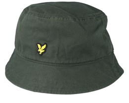 Cotton Twill Leaf Green Bucket - Lyle & Scott