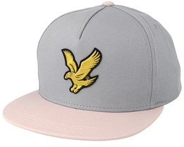 Colour Black Eagle Cloud Blue/Dusky Lilac Strapback - Lyle & Scott