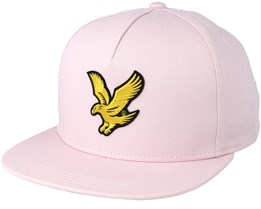 Colour Black Eagle Dusky Lilac Strapback - Lyle & Scott