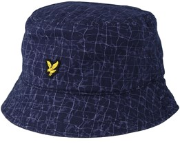 Pool Print Navy Pool Print Bucket - Lyle & Scott