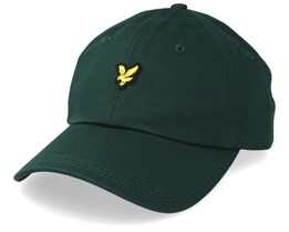 Cotton Twill Baseball Cap Jade Green Adjustable - Lyle & Scott