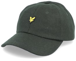Wollen Cap Jade Green Adjustable - Lyle & Scott