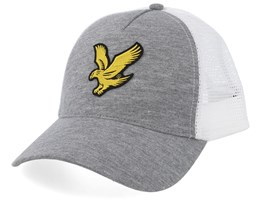 Mid Grey Marl/White Trucker - Lyle & Scott
