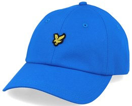 Baseball Cap Bright Royal Blue Adjustable - Lyle & Scott