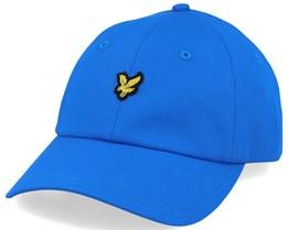 Baseball Cap Bright Royal Blue Adjustable - Lyle & Scott