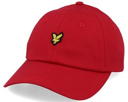 Baseball Cap Gala Red Adjustable - Lyle & Scott