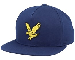 Eagle Cap Dark Navy Strapback - Lyle & Scott