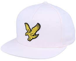Eagle Pastel Pink Snapback - Lyle & Scott