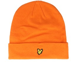 Beanie Risk Orange Cuff - Lyle & Scott