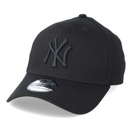 best service b540f da2b2 New Era NY Yankees 39thirty Black Black - New Era  29.99